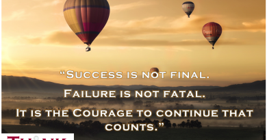 Success is not final, failure is not fatal. It is the courage to continue that counts. - Winston Churchill
