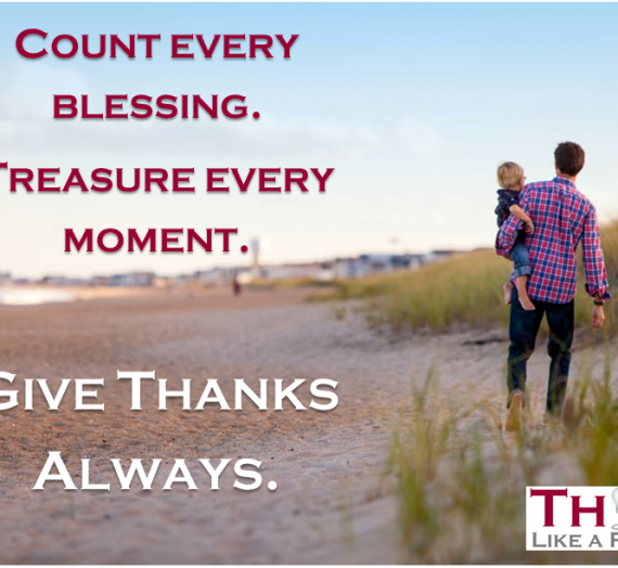 Give Thanks Always.
